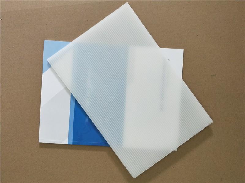 透明塑胶pp中空板